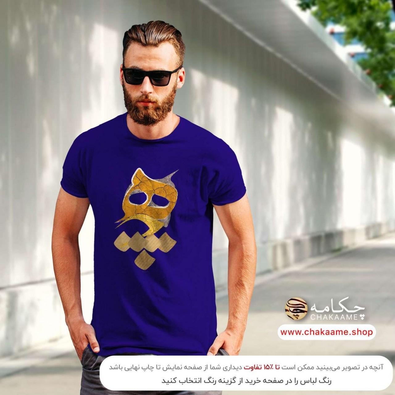 تی شرت طرح هیچ 99 - طلایی