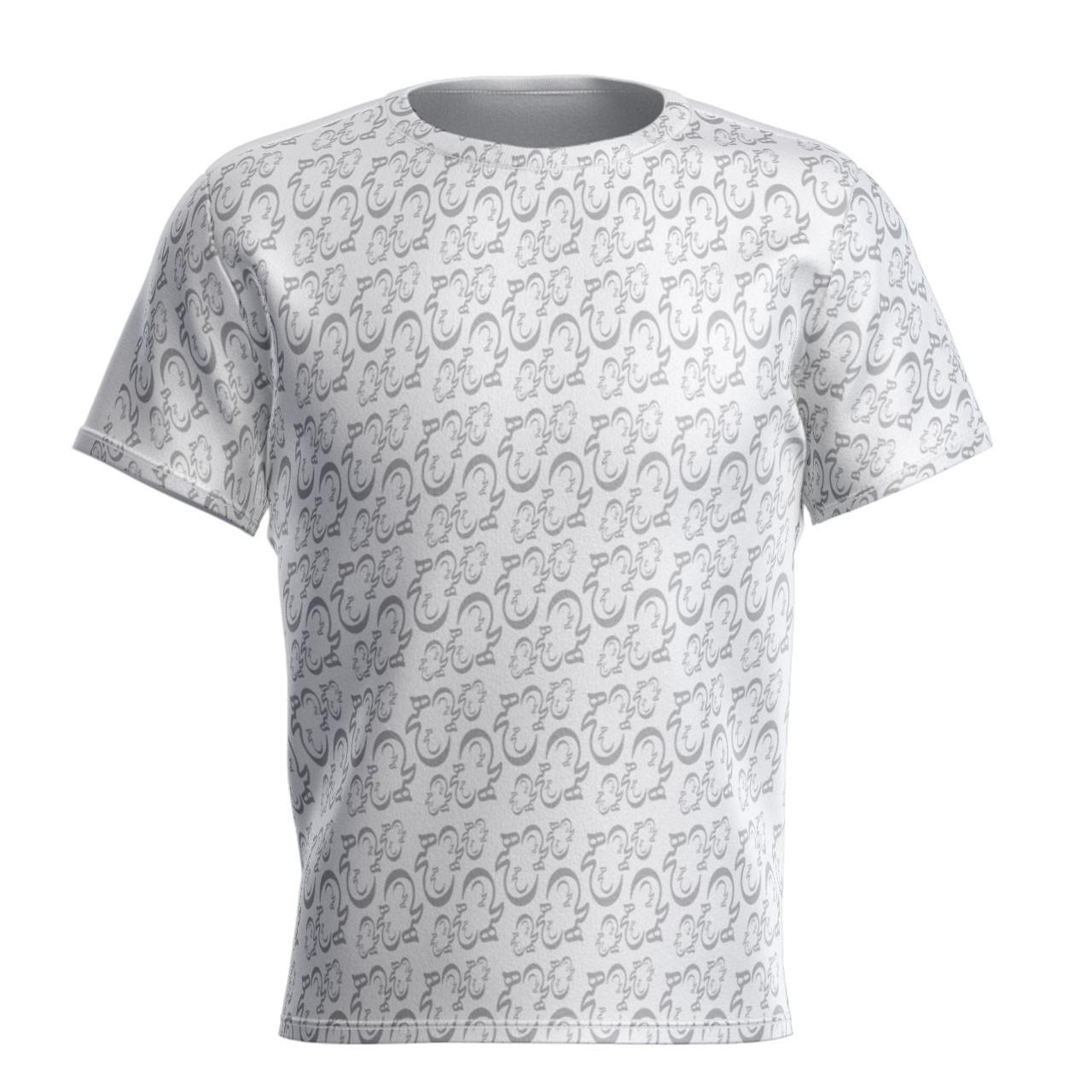 تی شرت تمام چاپ طرح هیچ