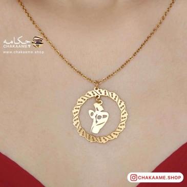 گردنبند طلا - طرح همنفس