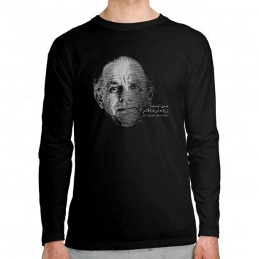 تی شرت آستین بلند طرح شعر...