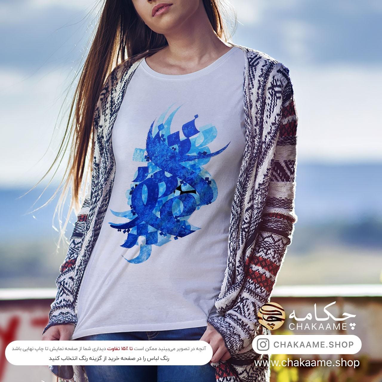 تی شرت طرح نقاشیخط کد 23