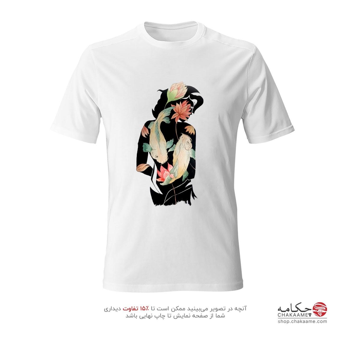 تی شرت نقاشی طرح تکامل