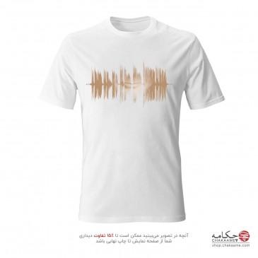 تی شرت طرح امواج صدای استاد...